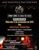 afiche china libre en argentina 6 de noviembre